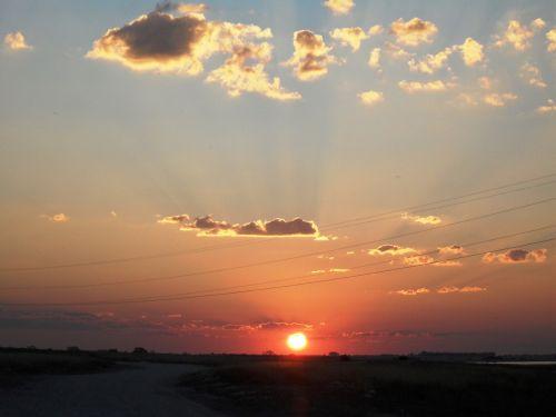 Sunset At Barbel Pan