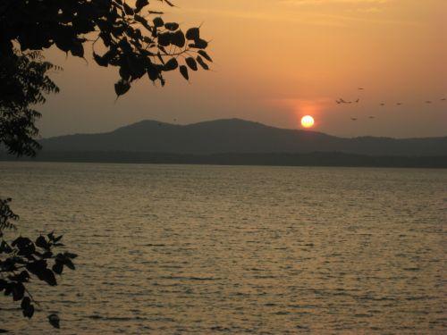 Sunset - Sri Lankan Lake