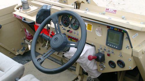 Supacat HMT 400 Jackal Dashboard