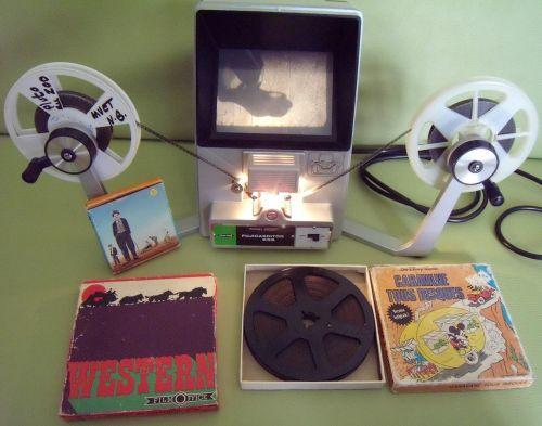 super 8 movie film viewer amateur theater