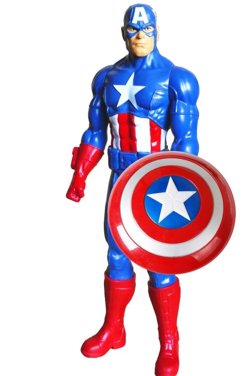 super hero captain america america