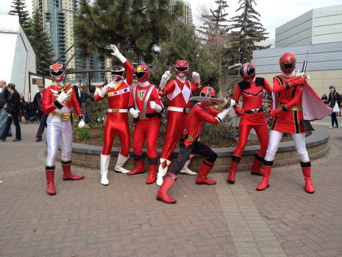 super heroes group costumes