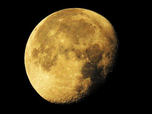 super moon moon waning moon