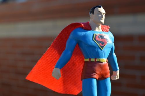 superman superhero cape