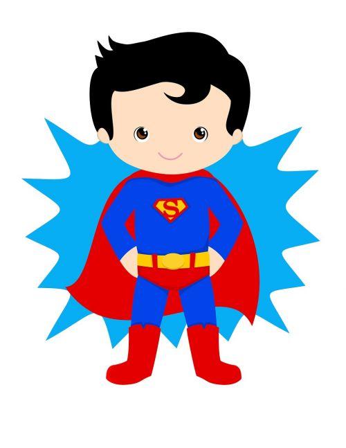 superman kid hero superhero