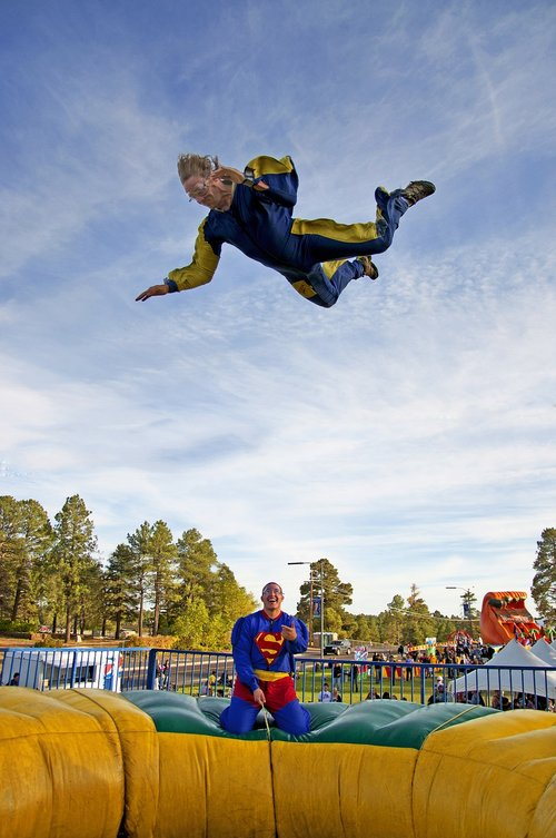 superman  ride  amusement park