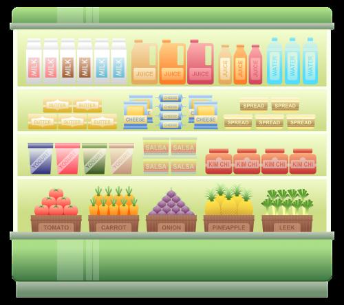 supermarket shelf chiller supermarket chiller