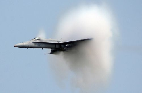 supersonic sound barrier speed