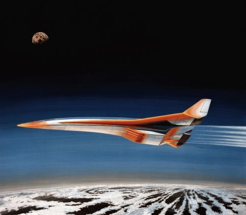 supersonic earth moon