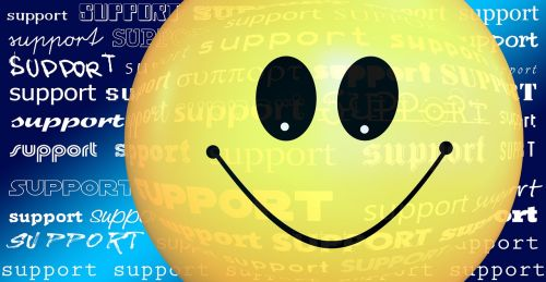 support smiley friendly