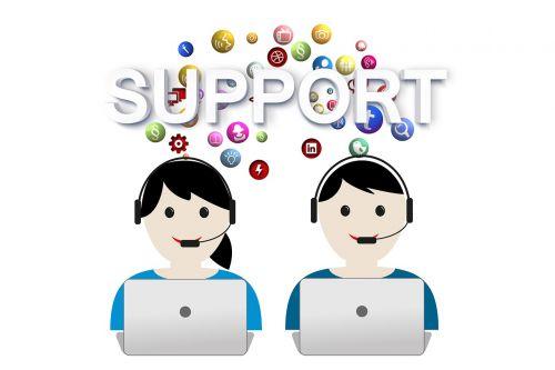 support help call center