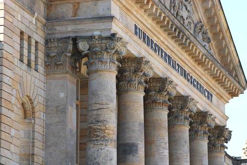 supreme administrative court  leipzig  facade