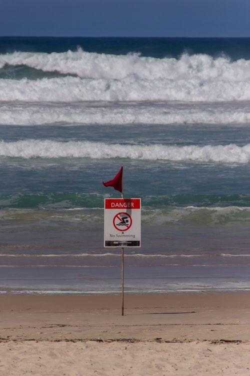 surf beach danger