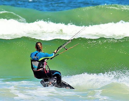 surf surfing kiting