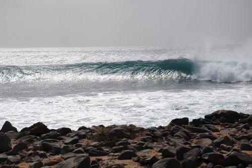 cap verde on the island of sal spot punta prata surf