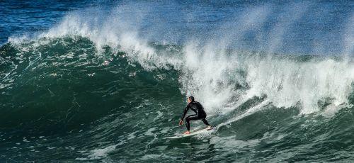 surf beach sea