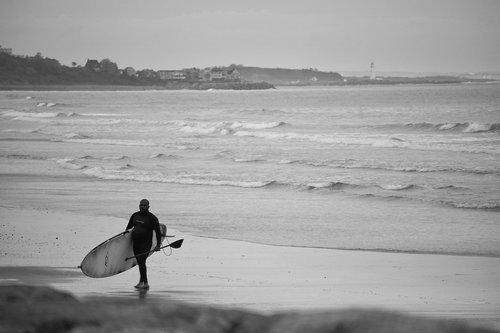 surf  surfer  paddle