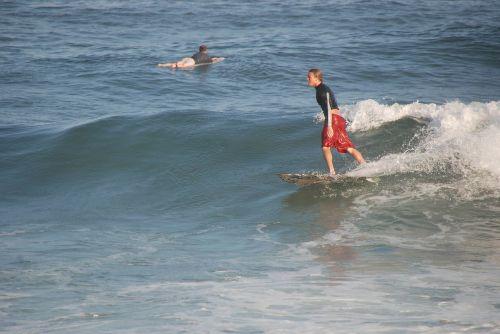 surfer sea wave