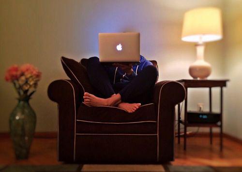 surfing internet computer
