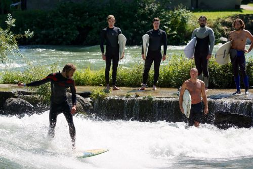 surfing water sports waves surfing