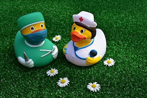 surgeon  operation  rubber duck