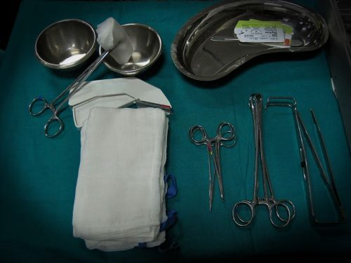 Surgical Instruments And Swabs