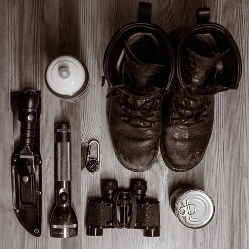 survival  package  shoes