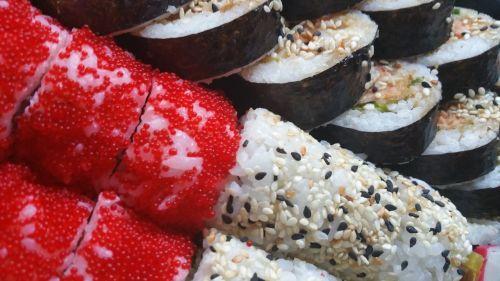 sushi food asian