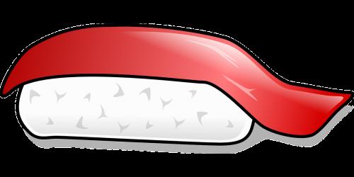 sushi nigiri food