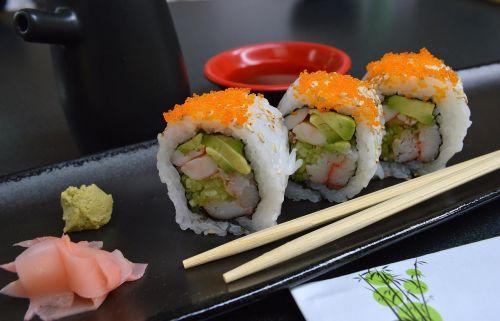 sushi sticks japanese food