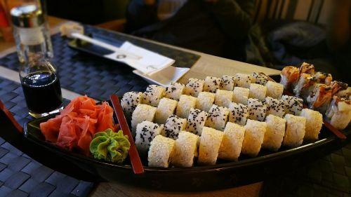 sushi maki asian