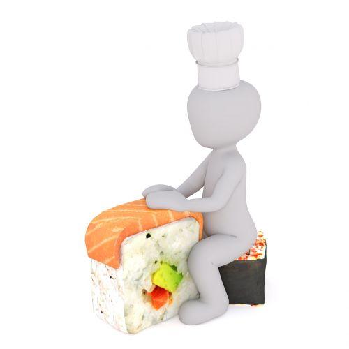 sushi menu bento box