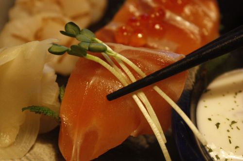 sushi salmon times time