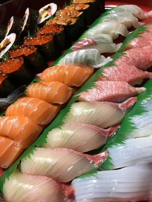 sushi japanese cuisine nigiri