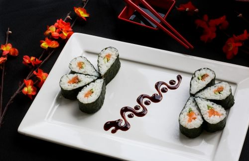 sushi japanese food japanese