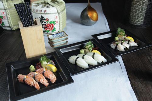 sushi sashimi japanese food