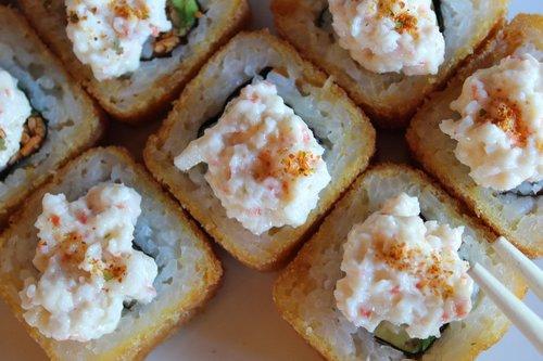 sushi  nagano  food