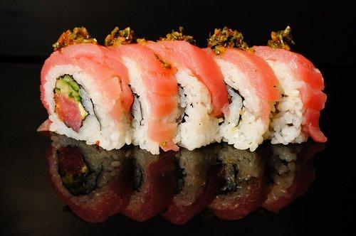 sushi  salmon  sushi bar