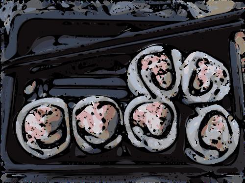 sushi california roll japanese
