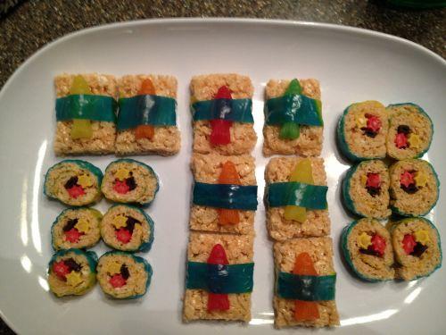 sushi fake treat