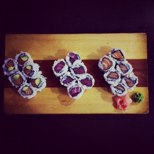 sushi restaurant food