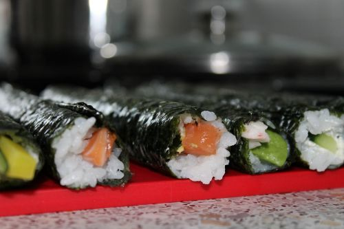 sushi roll asia