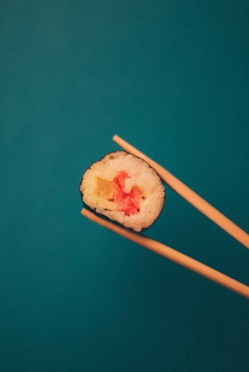 sushi chopsticks maki
