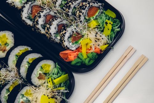 sushi food fish
