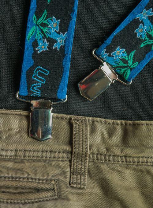 suspenders pants tongs