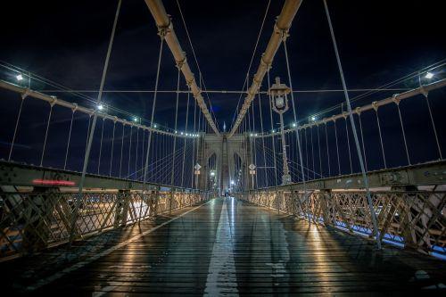 suspension bridge cables