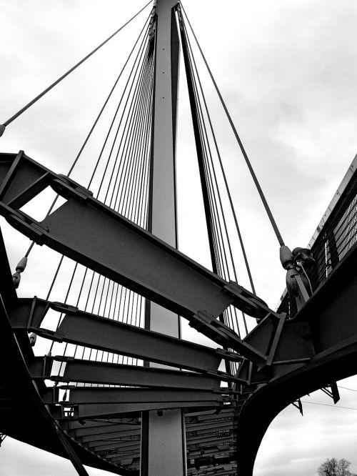 suspension bridge bridge steel bridge