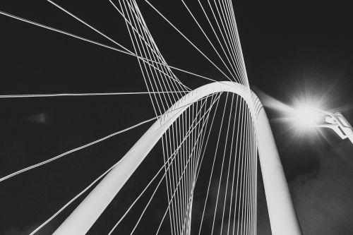 suspension bridge pillar cables