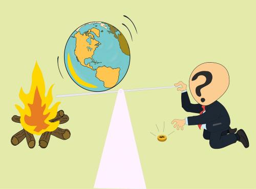sustainability illustration environment
