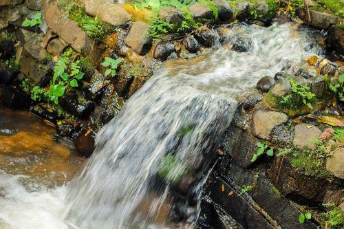 sustainability travel waterfall